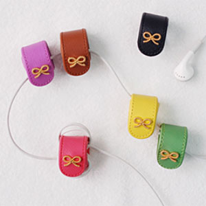 ribbon earphone winder